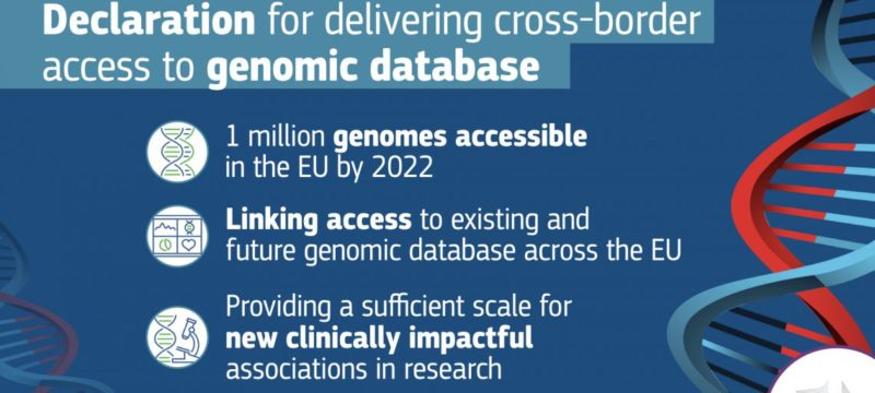 Genomic data and the European Declaration on Cross-Border Access to the Genomic Database